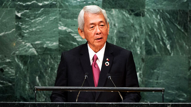 5 Points From Secretary Yasay's Speech At The UN General Assembly