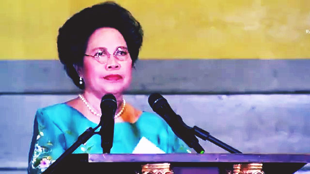 10 Times Miriam Defensor-Santiago Was Triggered (And We Totally Loved It)