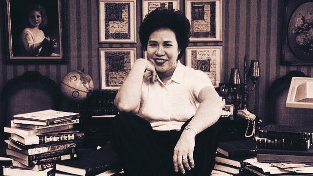 Ex-Senator Miriam Defensor-Santiago, 71