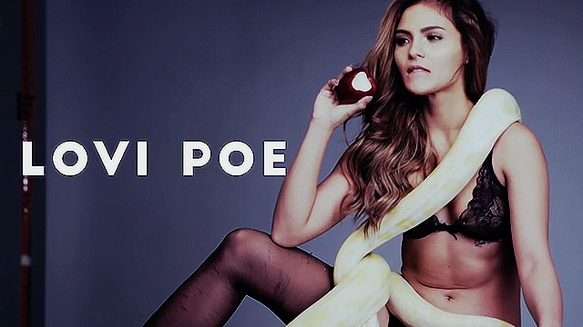 Lovi Poe Plays With Pythons In Her FHM Sophomore Cover