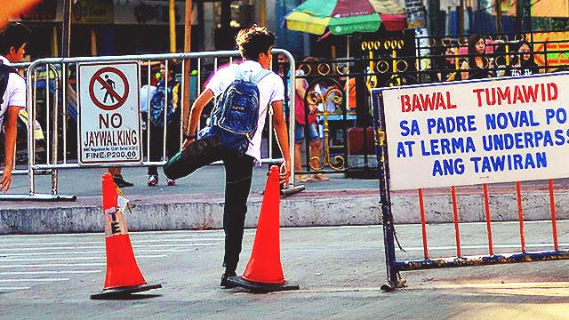 The MMDA Dares You To Litter And Jaywalk Along EDSA