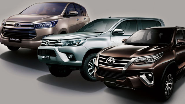 The Toyota Fortuner, Hilux, And Innova Will Look Perfect In Your Dream Garage