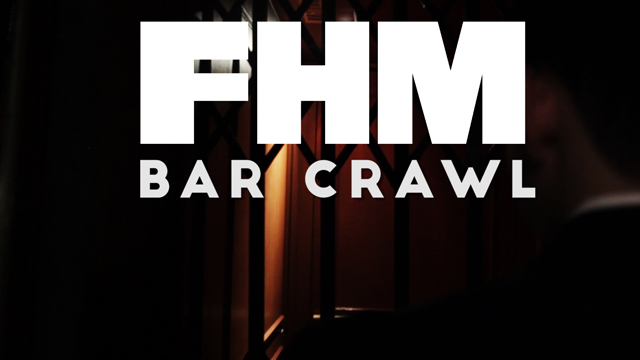 FHM Bar Crawl: Alcohol By Volume
