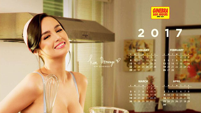 Kim Domingo Is Intoxicating As Ginebra's Newest Calendar Girl