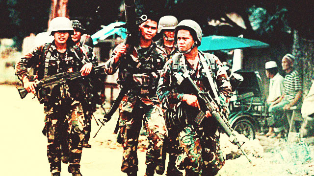 Duterte Dreamin': Only Filipino Soldiers In The PH