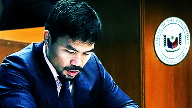 Pacquiao On Juggling Senate And Boxing Careers: 'Not Easy'