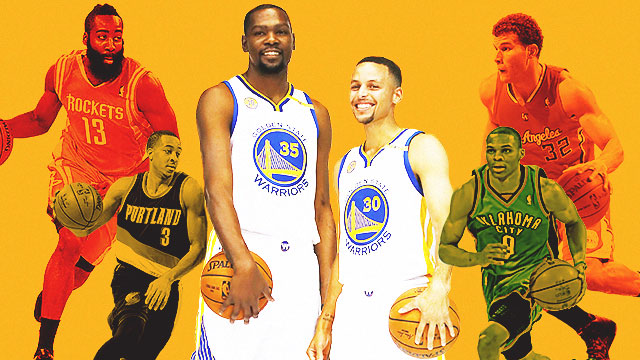 NBA Preview: Steph And KD Versus Westbrook And The Big Dogs In The West