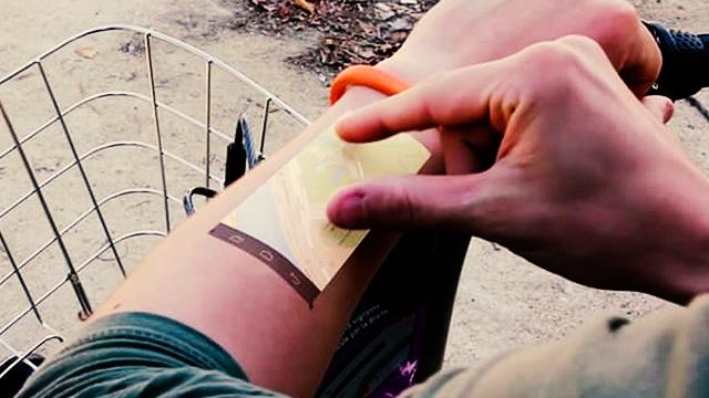 This Wristband Will Turn Your Arm Into A Touchscreen