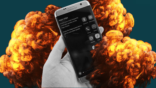 Not Just The Note7: Another Samsung Phone Explodes