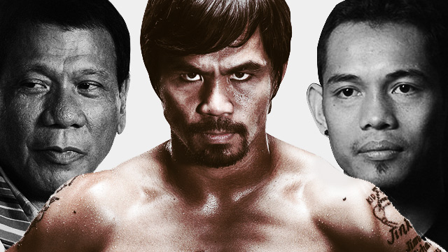 Duterte, Donaire Want To See KO In Pacquiao Fight