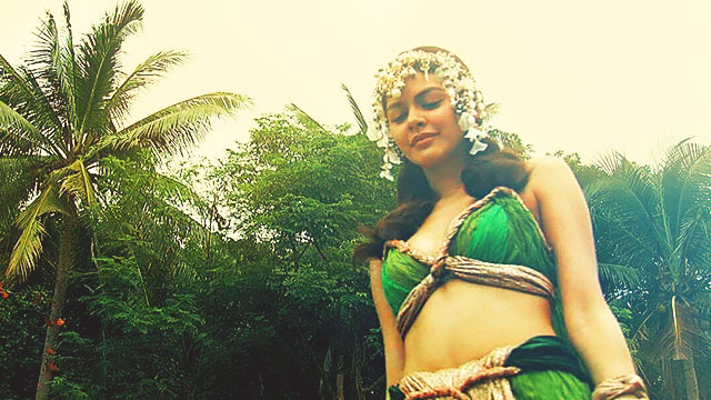 Janine Gutierrez Shows Off Toned Physique for 'Encantadia'