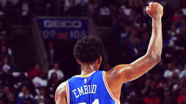 Mark Our Words: Joel Embiid Is The Next Hakeem Olajuwon
