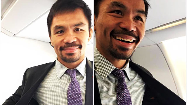 Is Pacquiao's Suit Jacket A Sign Of Things To Come?