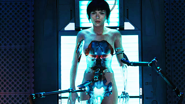 The Official Trailer For 'Ghost In The Shell' Is A Visual Treat