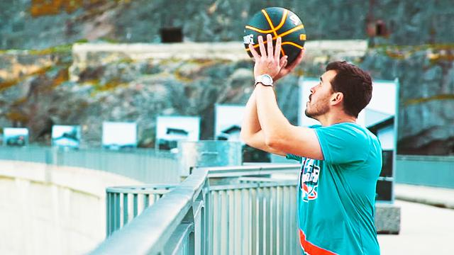 YouTubers Break The Record For Highest Basketball Shot Ever