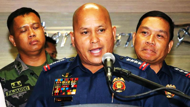PNP Chief Bato Wants Cop Sacked Over 'Threesome' FB Comment