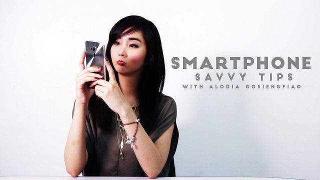 Alodia Gosiengfiao Shows You How To Be Smartphone Savvy