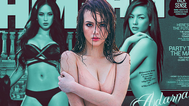 The Evolution Of Ellen Adarna According To Her Magazine Covers