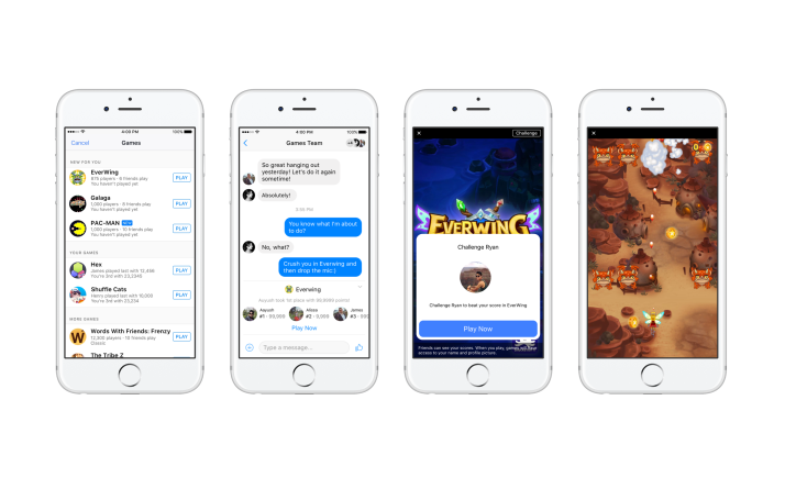 Kill Your Boredom With These Facebook Messenger Instant Games
