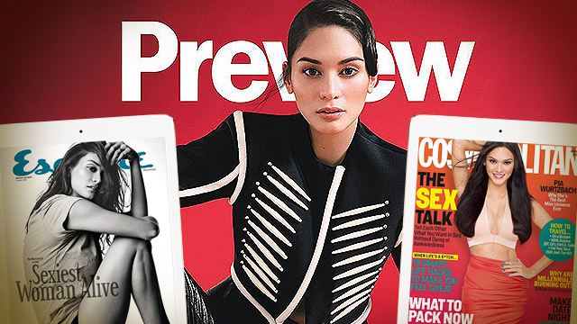 Pia Wurtzbach's New Cover Is Pretty Badass