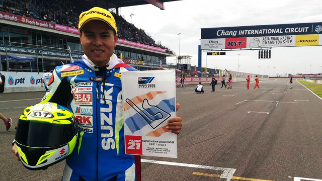 Pinoys Invade The Suzuki Asian Challenge Racetrack