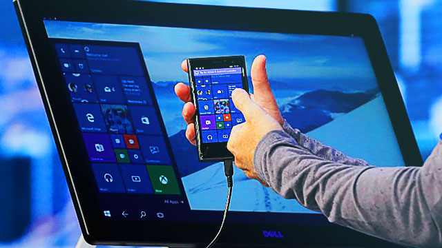 Ditch Those Laptops Because Microsoft Will Soon Turn Smartphones Into PCs