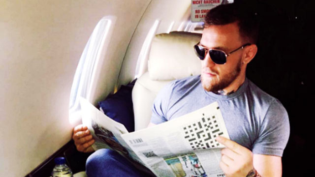 Is McGregor Mocking Mayweather's Reading Skills In Latest Post?