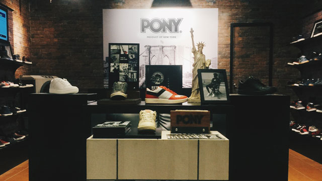 Here's Your First Look Inside Pony's New Pop-up Store