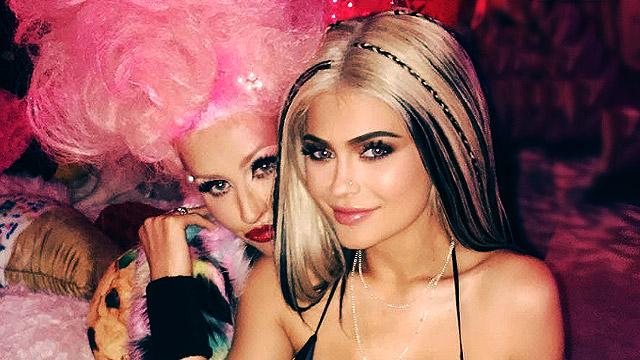Kylie Jenner Imitates The Dirrrty Version Of Christina Aguilera
