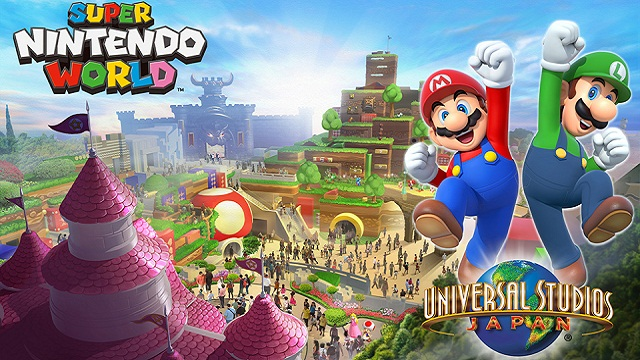 A Super Mario/Nintendo Theme Park Is Just What This World Needs