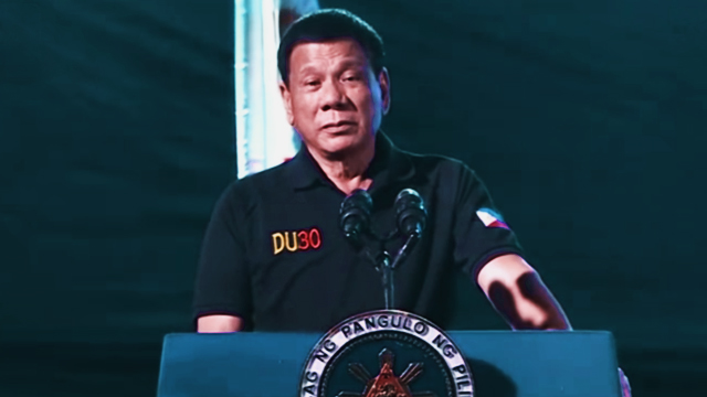 President Duterte Claims That EJKs Are Not His Government's Handiwork