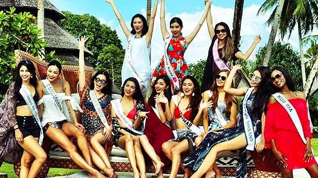 Bikini-Clad Miss Universe 2016 Candidates Invade The PH
