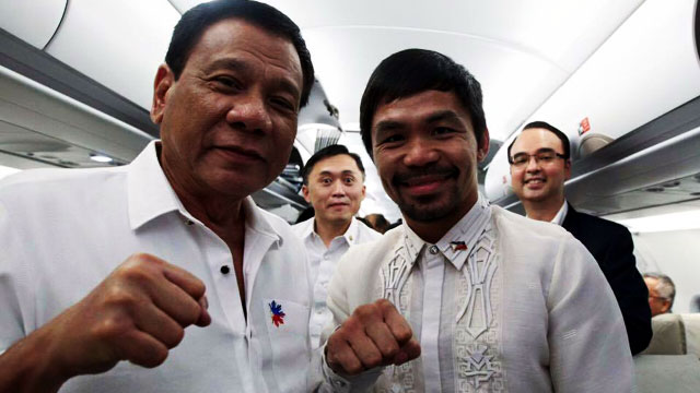 President Pac-Man In 2022? Duterte Thinks So