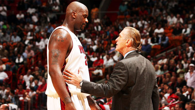 Shaq Tells Story Of Pat Riley Holding His Breath Underwater For 8 Minutes