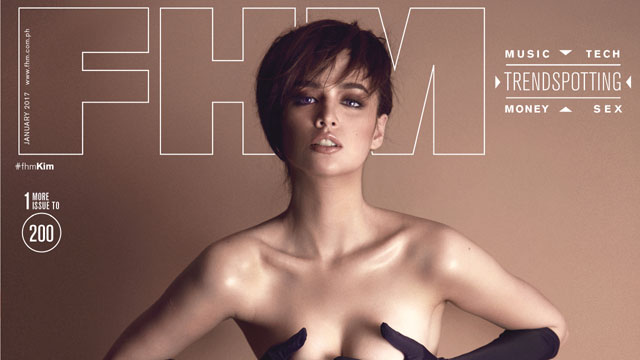 Kim Domingo Is FHM's January 2017 Cover Girl