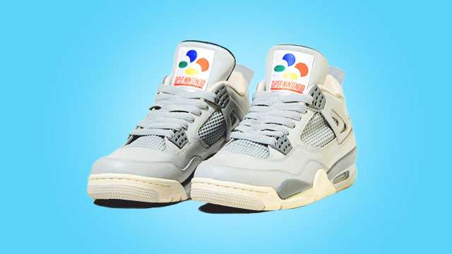 Damn, These Custom Nintendo Sneakers Are Crazy Cool
