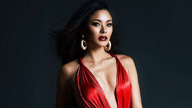Maxine Medina Seriously Slays In Fiery Red Dress