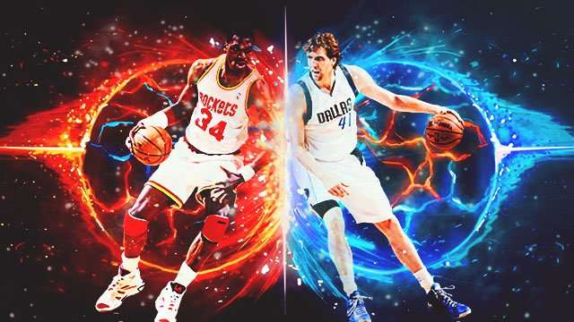 Who You Got? Dirk Nowitzki Vs. Hakeem Olajuwon