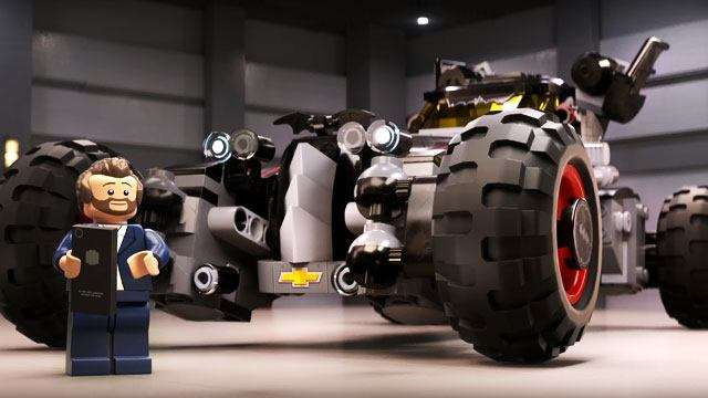 Chevy's New LEGO Batmobile Introduced In Comical Clip