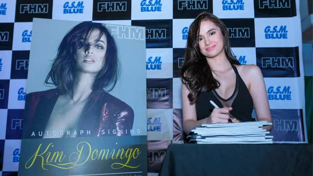 FHM Autograph Signing With Kim Domingo: The Full Gallery