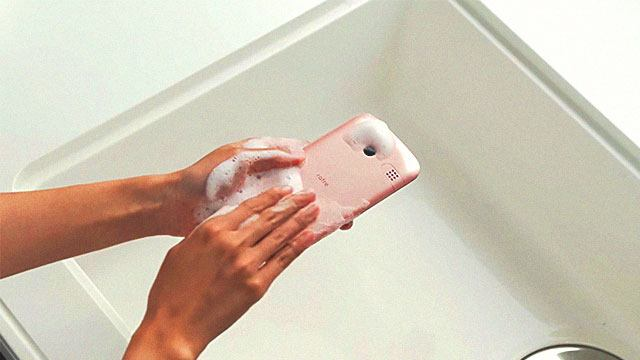 Go Ahead And Wash This Smartphone With Soap