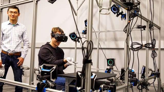 Zuckerberg Develops Prototype Gloves For Groping Things In VR
