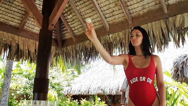 Olivia Munn Playing Beer Pong Is An Intoxicating Sight To Behold