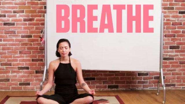 Julz Savard Hilariously Teaches Us Her Favorite Yoga Poses