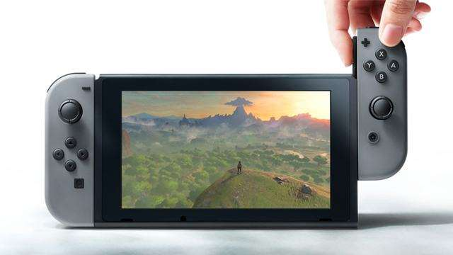 Nintendo Switch Unboxing Leak Reveals 25.9 GB Memory