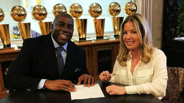 Magic Johnson's Tweets Are Not Helping His Case As Lakers President