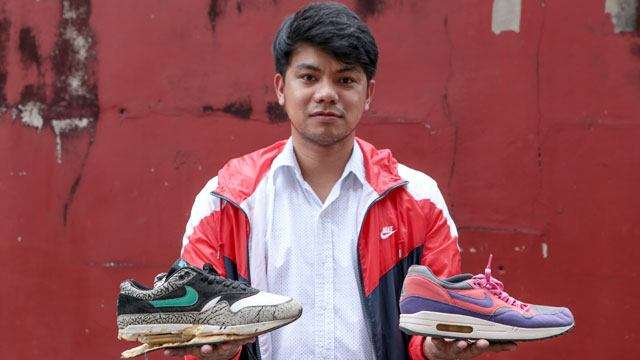 Meet The Guy Who Can Raise Your Sneakers From The Dead