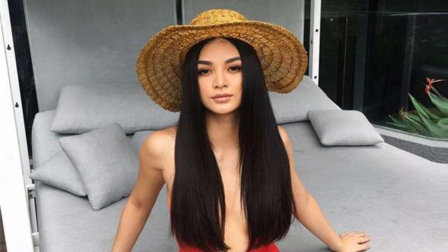Kylie Verzosa In A Red Swimsuit Is All You Need To Perk Up Your Weekend