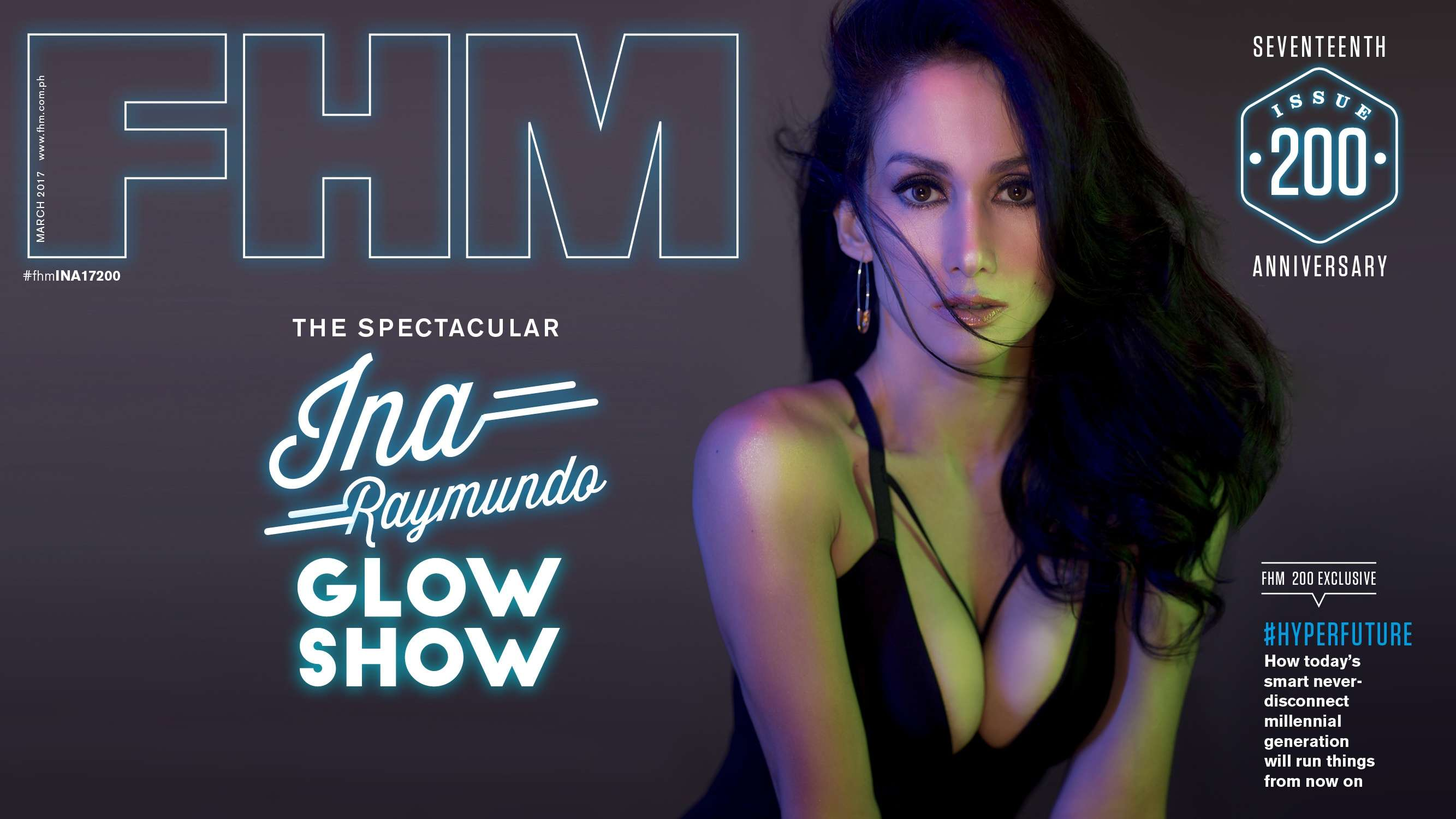 Ina Raymundo Is FHM's March 2017 Cover Girl