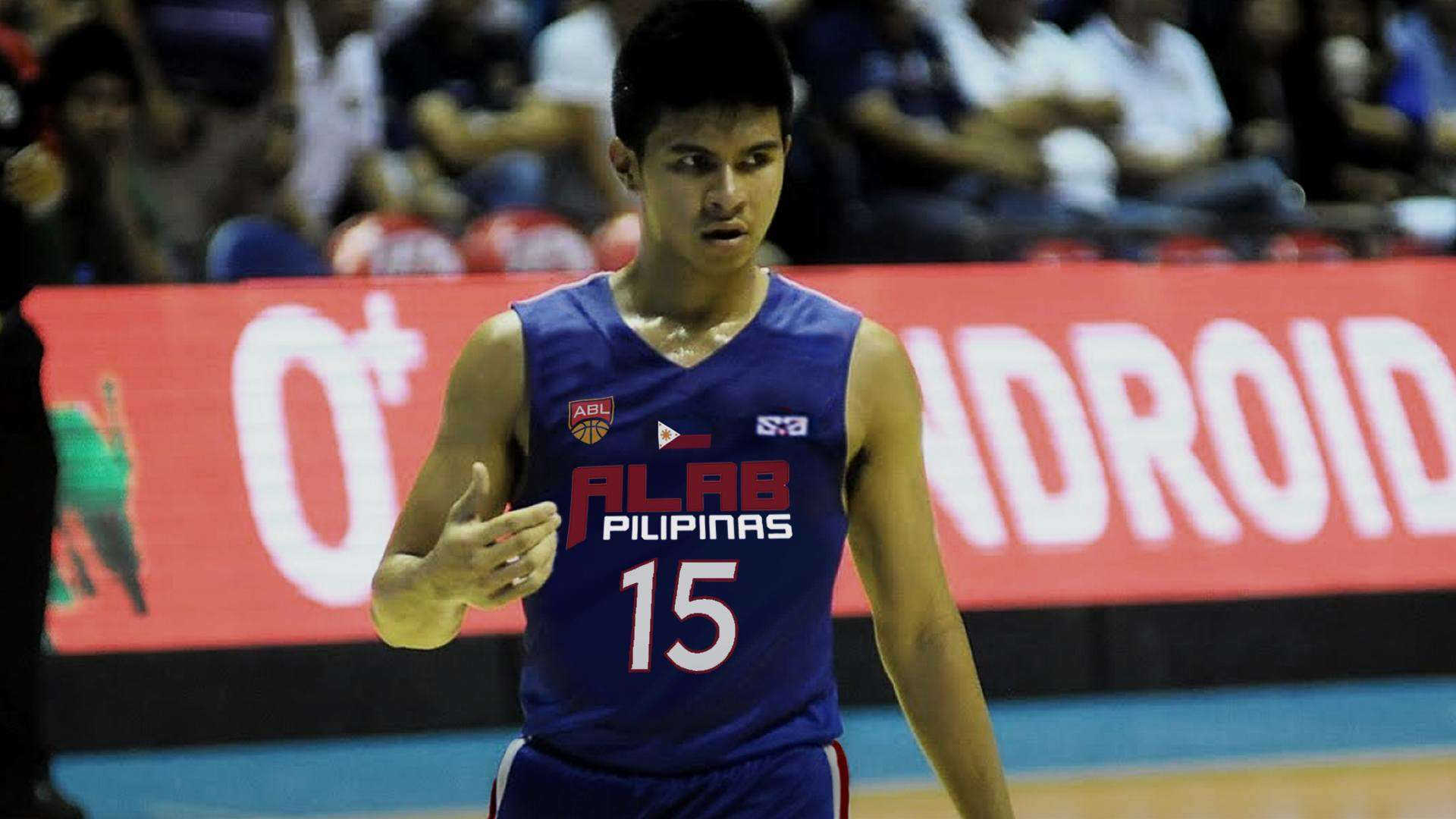 Kiefer Ravena Will Add Fire To Alab Pilipinas